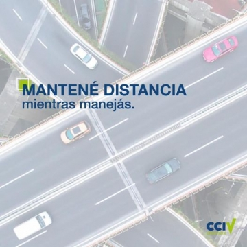Mantené Distancia